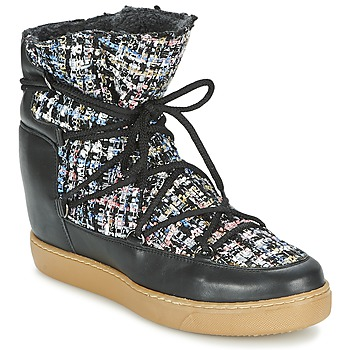 Schuhe Damen Boots Meline DERNA Schwarz