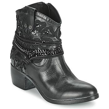 Schuhe Damen Boots Mimmu KAL Schwarz