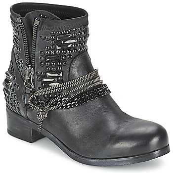 Schuhe Damen Boots Mimmu LIL Schwarz