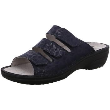 Schuhe Damen Pantoffel Rohde Pantoletten 5772/56 blau