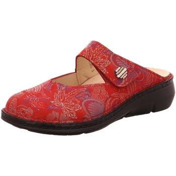 Schuhe Damen Pantoletten / Clogs Finn Comfort Pantoletten Roseau 02598 657420 rot