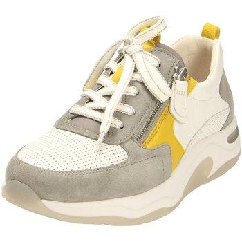 Schuhe Damen Sneaker Low Rollingsoft By Gabor Schnuerschuhe 46.918.40 weiß