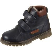 Schuhe Jungen Boots Bisgaard Klettschuhe 60329.219-606 navy Leder 60329.219-606 blau