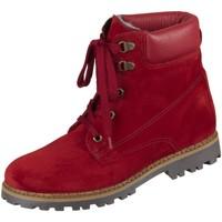 Schuhe Mädchen Stiefel Sabalin Schnuerstiefel 54-4973-2969 veneroso Seta Adamo 54-4973-2969 rot