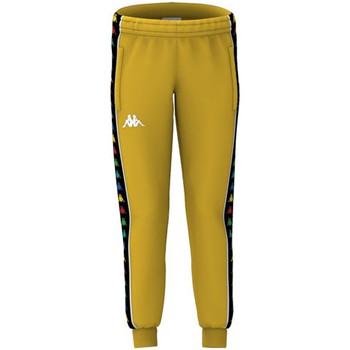 Kleidung Jungen Jogginghosen Kappa - Pantalone giallo 39114CW-A53 GIALLO