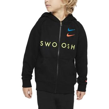 Kleidung Jungen Sweatshirts Nike - Felpa nero 86G341-023 NERO