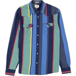 Kleidung Herren Jogginganzüge Wrangler Chemise  Western 2 Pocket multicolore
