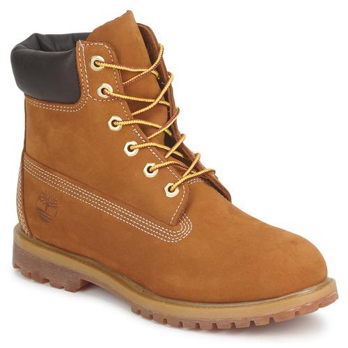 Schuhe Damen Boots Timberland 6IN PREMIUM BOOT - W Braun