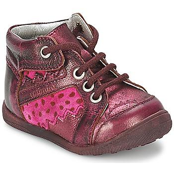 Schuhe Mädchen Boots Catimini CABILLAUD Rose / Braun