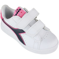 Schuhe Kinder Sneaker Low Diadora game p ps c8593 Rose