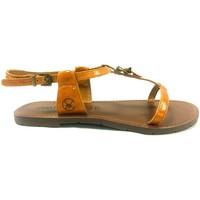 Schuhe Damen Sandalen / Sandaletten Chattawak Sandale 9-ZHOE Jaune Gelb