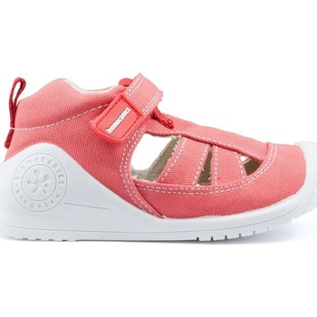 Schuhe Kinder Sandalen / Sandaletten Biomecanics Sandalen  LEINWAND BABY AZAI RED