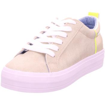 Schuhe Damen Sneaker Low Idana SchnUErhalbschuh sportlich/Sne GOLD 907
