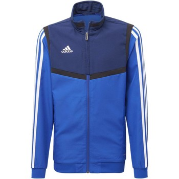 Kleidung Kinder Trainingsjacken adidas Originals Tiro 19 Präsentationsjacke Blau