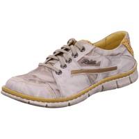 Schuhe Damen Derby-Schuhe Krisbut Schnuerschuhe 2296-4-1 beige