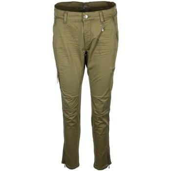 Kleidung Damen Hosen Mac Accessoires Bekleidung RICH 0430L237700 351V grün
