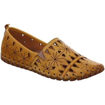Schuhe Damen Slipper Gemini Slipper 031225-02/006 gelb