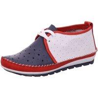 Schuhe Damen Sneaker High Gemini Schnuerschuhe 382003-01/581 blau