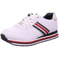 Schuhe Mädchen Sneaker Low Supremo Schnuerschuhe 80723 8072301 weiß