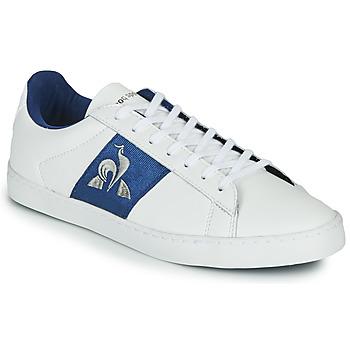 Schuhe Damen Sneaker Low Le Coq Sportif ELSA Weiss / Blau