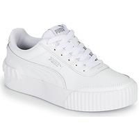 Schuhe Damen Sneaker Low Puma CARINA LIFT Weiss