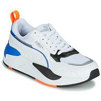 Schuhe Kinder Sneaker Low Puma X-RAY Weiss / Blau / Schwarz