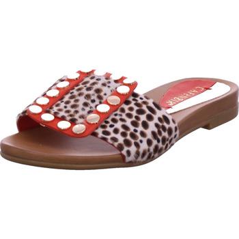 Schuhe Damen Pantoffel Café Noir - GA109324 rot