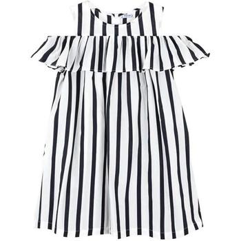 Kleidung Mädchen Kurze Kleider Mayoral Kids Vestido rayas Marino blue