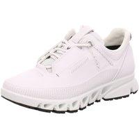 Schuhe Damen Sneaker Low Ecco Schnuerschuhe  MULTI-VENT W weiß