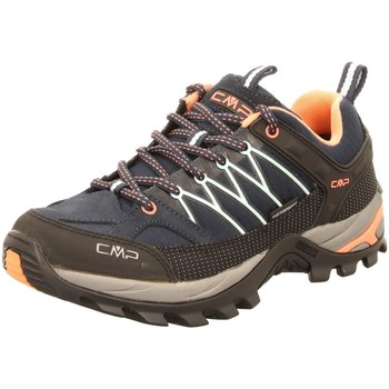 Schuhe Damen Fitness / Training Cmp F.lli Campagnolo Sportschuhe RIGEL LOW WMN TREKKING SHOES W,B.BL 3Q54456 92AD blau