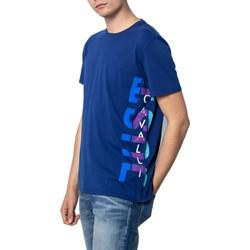 Kleidung Herren T-Shirts Roberto Cavalli S03GC0530 Blu