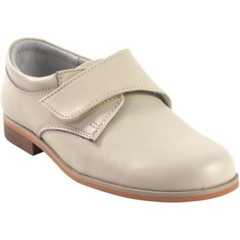 Schuhe Jungen Derby-Schuhe Bubble Bobble BOBBLE b521 beig Weiss