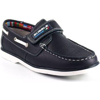 Schuhe Jungen Slipper Bubble Bobble a1837-s / a1837-l blau Blau