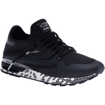 Schuhe Herren Sneaker Low Lotto Athletica Run Light Schwarz