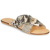 Schuhe Damen Pantoffel Jonak JASMINE Braun