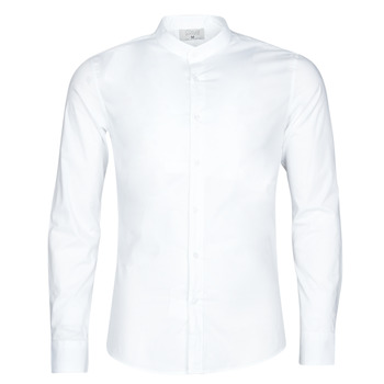 Kleidung Herren Langärmelige Hemden Casual Attitude MASS Weiss