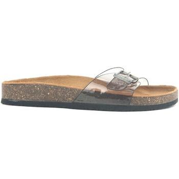 Schuhe Damen Pantoffel Chattawak Mule 9-OPALINE T.GRIS VERNIS Grau