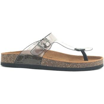 Schuhe Damen Pantoffel Chattawak Sandales Zelda T Noir Schwarz