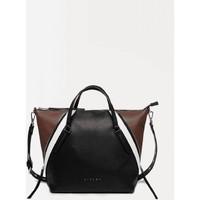 Taschen Damen Handtasche Sisley 6GEUW1383 schwarz