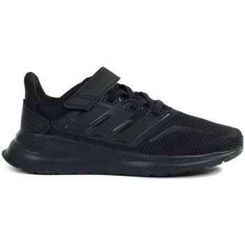 Schuhe Kinder Laufschuhe adidas Originals Runfalcon C Schwarz