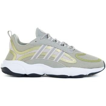 Schuhe Kinder Laufschuhe adidas Originals Haiwee J Grün, Gelb