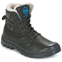 Schuhe Boots Palladium PAMPA SPORT WPS Schwarz