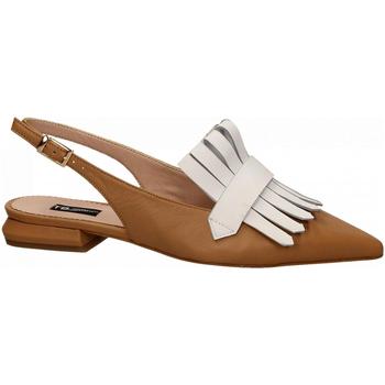Schuhe Damen Pumps Tosca Blu BORA BORA 59w-cuoio-bianco