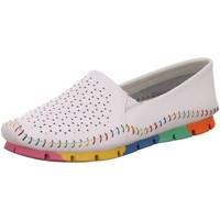 Schuhe Damen Slipper Cosmos Comfort Slipper 6124403 119 weiß