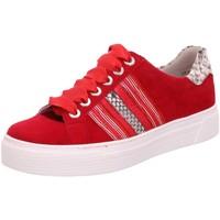 Schuhe Damen Sneaker Low Semler Schnuerschuhe Alexa Weite H A5385735/066 rot