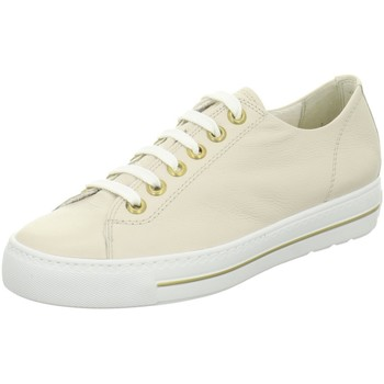 Schuhe Damen Sneaker Low Paul Green Schnuerschuhe 4704 4704-286 beige