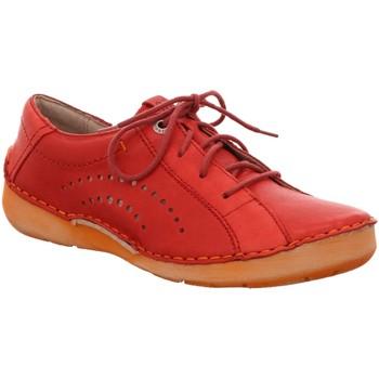 Schuhe Damen Sneaker Low Josef Seibel Schnuerschuhe FERGEY 73 rot