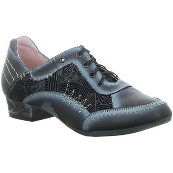 Schuhe Damen Derby-Schuhe Maciejka Schnuerschuhe 02375-19/00-5 blau