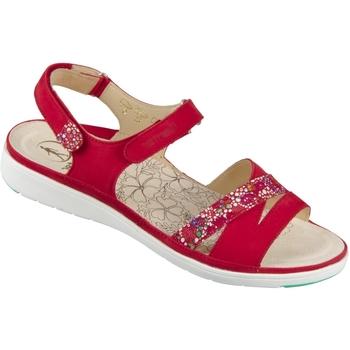 Schuhe Damen Sandalen / Sandaletten Ganter Sandaletten 9-200112-4000 rot