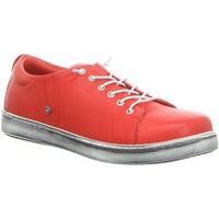 Schuhe Damen Sneaker Low Andrea Conti Schnuerschuhe 0347891021 rot